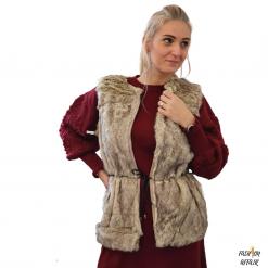 vesta femei blana